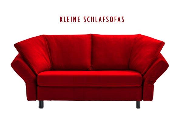 Kleines rotes Sofa